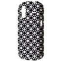 Modern Dots In Squares Mosaic Black White HTC Amaze 4G Hardshell Case  View3