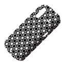 Modern Dots In Squares Mosaic Black White HTC Amaze 4G Hardshell Case  View4