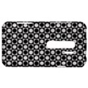 Modern Dots In Squares Mosaic Black White HTC Evo 3D Hardshell Case  View1
