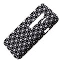 Modern Dots In Squares Mosaic Black White HTC Evo 3D Hardshell Case  View4
