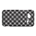 Modern Dots In Squares Mosaic Black White HTC Droid Incredible 4G LTE Hardshell Case View1