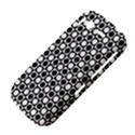 Modern Dots In Squares Mosaic Black White HTC Desire S Hardshell Case View4