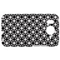 Modern Dots In Squares Mosaic Black White HTC Desire HD Hardshell Case  View1
