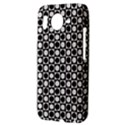 Modern Dots In Squares Mosaic Black White HTC Desire HD Hardshell Case  View3