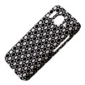 Modern Dots In Squares Mosaic Black White HTC Desire HD Hardshell Case  View4