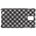 Modern Dots In Squares Mosaic Black White Samsung Infuse 4G Hardshell Case  View1
