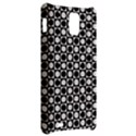 Modern Dots In Squares Mosaic Black White Samsung Infuse 4G Hardshell Case  View2
