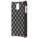 Modern Dots In Squares Mosaic Black White Samsung Infuse 4G Hardshell Case  View3