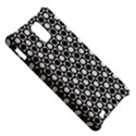 Modern Dots In Squares Mosaic Black White Samsung Infuse 4G Hardshell Case  View5