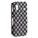Modern Dots In Squares Mosaic Black White Samsung Galaxy Ace S5830 Hardshell Case  View2