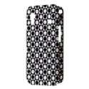 Modern Dots In Squares Mosaic Black White Samsung Galaxy Ace S5830 Hardshell Case  View3