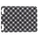 Modern Dots In Squares Mosaic Black White Kindle Touch 3G View1