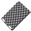 Modern Dots In Squares Mosaic Black White Kindle Touch 3G View4