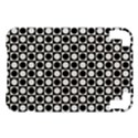 Modern Dots In Squares Mosaic Black White Kindle 3 Keyboard 3G View1
