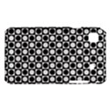 Modern Dots In Squares Mosaic Black White Samsung Galaxy S i9008 Hardshell Case View1