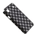 Modern Dots In Squares Mosaic Black White Samsung Galaxy S i9008 Hardshell Case View5