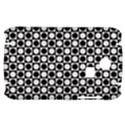 Modern Dots In Squares Mosaic Black White Samsung S3350 Hardshell Case View1