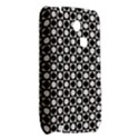Modern Dots In Squares Mosaic Black White Samsung S3350 Hardshell Case View2