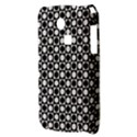 Modern Dots In Squares Mosaic Black White Samsung S3350 Hardshell Case View3