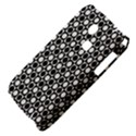 Modern Dots In Squares Mosaic Black White Samsung S3350 Hardshell Case View4