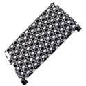 Modern Dots In Squares Mosaic Black White Apple iPad 2 Hardshell Case (Compatible with Smart Cover) View4