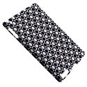 Modern Dots In Squares Mosaic Black White Apple iPad 2 Hardshell Case (Compatible with Smart Cover) View5