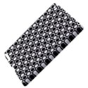 Modern Dots In Squares Mosaic Black White Apple iPad 3/4 Hardshell Case View4