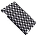 Modern Dots In Squares Mosaic Black White Apple iPad 3/4 Hardshell Case View5