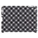 Modern Dots In Squares Mosaic Black White Apple iPad 3/4 Hardshell Case (Compatible with Smart Cover) View1