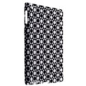 Modern Dots In Squares Mosaic Black White Apple iPad 3/4 Hardshell Case (Compatible with Smart Cover) View2