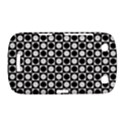 Modern Dots In Squares Mosaic Black White BlackBerry Curve 9380 View1