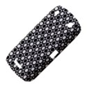Modern Dots In Squares Mosaic Black White BlackBerry Curve 9380 View4