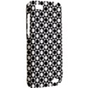 Modern Dots In Squares Mosaic Black White HTC One V Hardshell Case View2