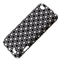 Modern Dots In Squares Mosaic Black White HTC One V Hardshell Case View4