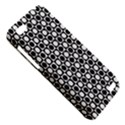 Modern Dots In Squares Mosaic Black White HTC One V Hardshell Case View5