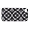 Modern Dots In Squares Mosaic Black White Apple iPhone 4/4S Premium Hardshell Case View1