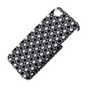 Modern Dots In Squares Mosaic Black White Apple iPhone 4/4S Premium Hardshell Case View4