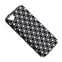 Modern Dots In Squares Mosaic Black White Apple iPhone 4/4S Premium Hardshell Case View5