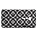 Modern Dots In Squares Mosaic Black White Sony Xperia ion View1