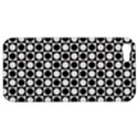 Modern Dots In Squares Mosaic Black White Apple iPhone 5 Hardshell Case View1