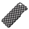 Modern Dots In Squares Mosaic Black White Apple iPhone 5 Hardshell Case View4