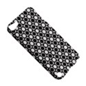 Modern Dots In Squares Mosaic Black White Apple iPod Touch 5 Hardshell Case View5