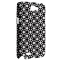 Modern Dots In Squares Mosaic Black White Samsung Galaxy Note 2 Hardshell Case View2