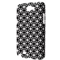 Modern Dots In Squares Mosaic Black White Samsung Galaxy Note 2 Hardshell Case View3