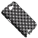 Modern Dots In Squares Mosaic Black White Samsung Galaxy Note 2 Hardshell Case View5