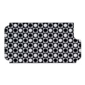 Modern Dots In Squares Mosaic Black White Apple iPhone 5 Hardshell Case (PC+Silicone) View1