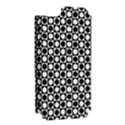 Modern Dots In Squares Mosaic Black White Apple iPhone 5 Hardshell Case (PC+Silicone) View2