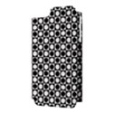 Modern Dots In Squares Mosaic Black White Apple iPhone 5 Hardshell Case (PC+Silicone) View3