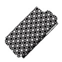Modern Dots In Squares Mosaic Black White Apple iPhone 5 Hardshell Case (PC+Silicone) View4