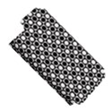 Modern Dots In Squares Mosaic Black White Apple iPhone 5 Hardshell Case (PC+Silicone) View5